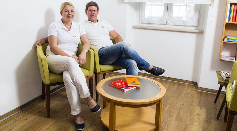 Dr Gisella und Dr Thomas Waibel  |  » Herzlich willkommen! «
